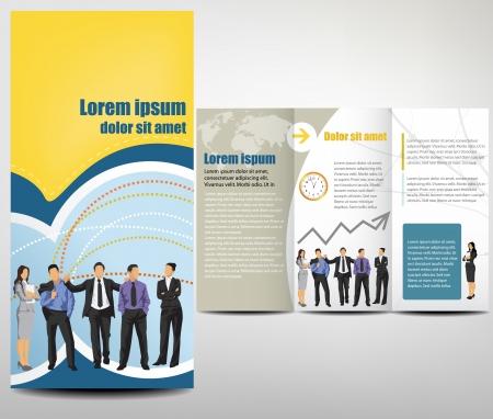 Mod�le Brochure Design Mise en page Illustration