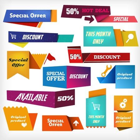 offerta speciale: Etichette colorate