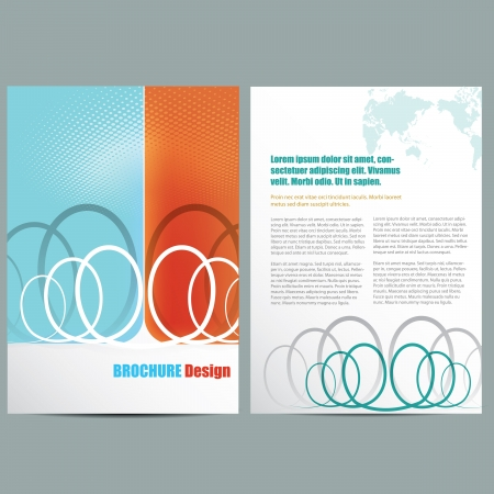 page views: Business Brochure