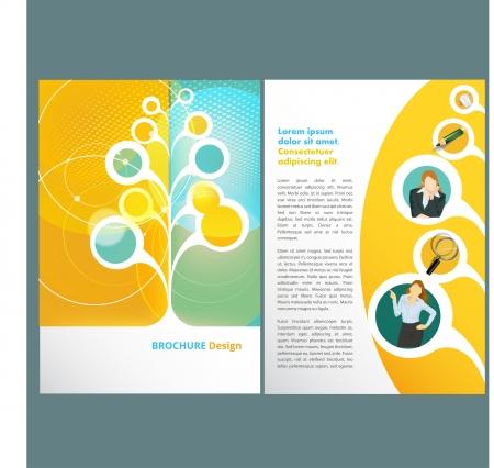 Template design Illustration