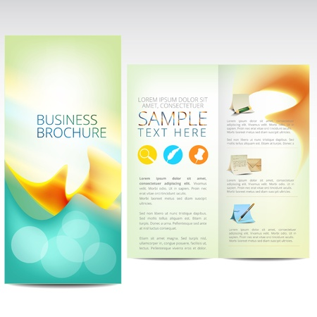tri fold: Business brochure