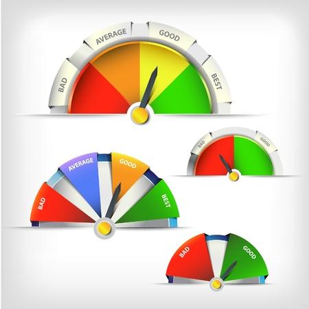 indicatore: indicando modello di progettazione schema Vettoriali