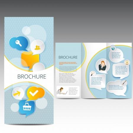 conception de mod�le de brochure