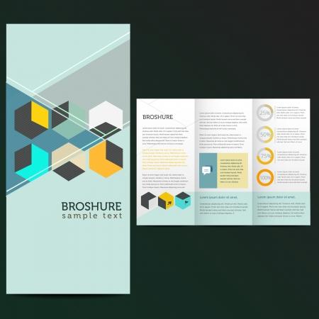 Modern design minimal style Illustration