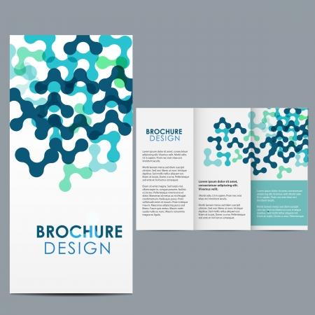 presentation folder: Blue Brochure Template