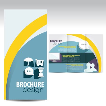 print shop: Brochure design