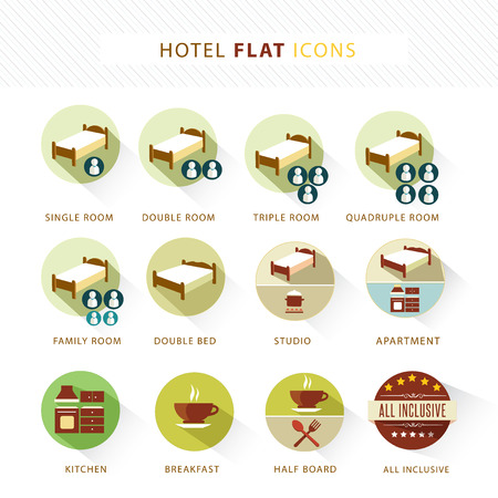 kitchen studio: Flat Icon set