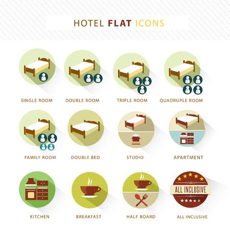 Flat Icon set Stock Vector - 25314876