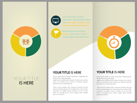layout design template: Vector Brochure Layout Design Template