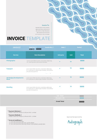 receivable: Invoice Illustration