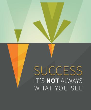 Inspirerend motiveren citaat met minimale achtergrond.