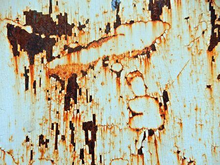 Rusty metal plate 스톡 콘텐츠