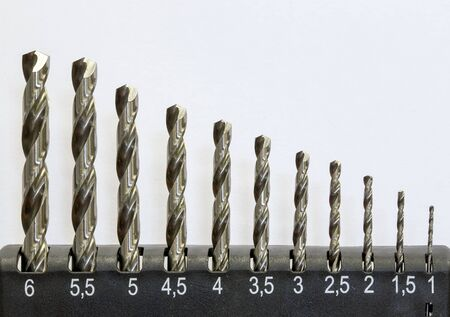 bits: set of drill bits for metal