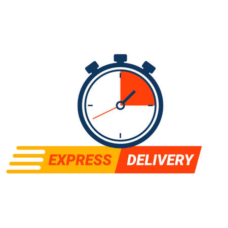 Express delivery service logo.