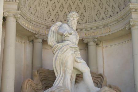 greek statue: Zeus Statue