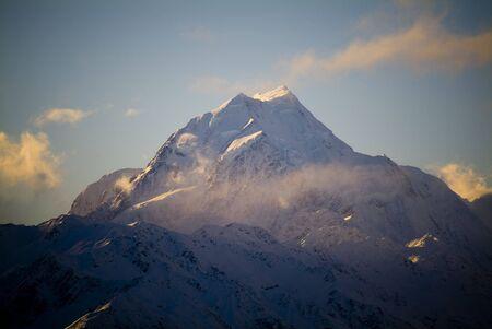 australasia: Aoraki  Mt Cook, the highest peak in Australasia  New Zealand at 3755m.