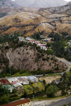 denuded: The unique mining town of Queenstown, Tasmania with its bizarre colourings and polluted surroundings