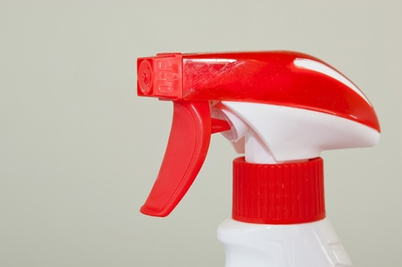 Generic spray bottles usually used for various cleaning products photo