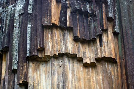 Amazing natural formations of Sawn Rocks, Narrabri, Australia