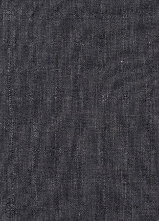 Detail of black linen as a background texture