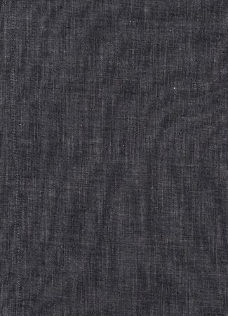 textuur: Detail van zwart linnen als achtergrond textuur