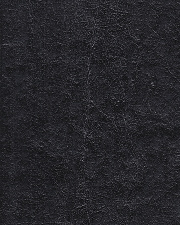 Distressed black leather detailed texture in high resolution 写真素材