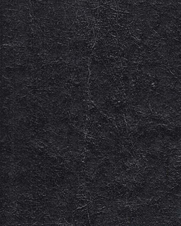 Distressed schwarzem Leder detaillierte Textur in hoher Auflösung