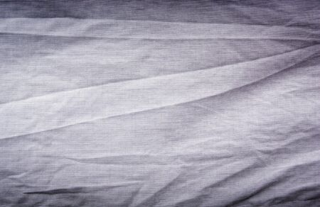 Crumpled cotton shirt with creases and texture photo