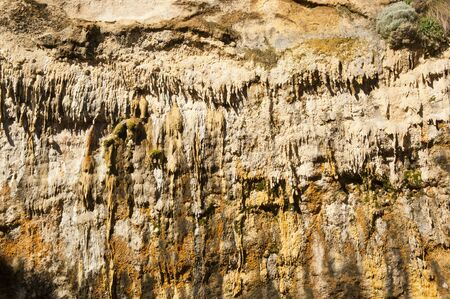 Stalactite and other cave formations hanging from the ceiling Stock Photo - 16066655