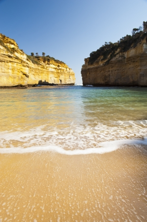 Loch Ard Gorge on the Great Ocean Road, Australia, near the Twelve Apostles Stock Photo - 16066555