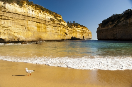 Loch Ard Gorge on the Great Ocean Road, Australia, near the Twelve Apostles Stock Photo - 16066330