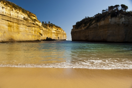 Loch Ard Gorge on the Great Ocean Road, Australia, near the Twelve Apostles Stock Photo - 16066433