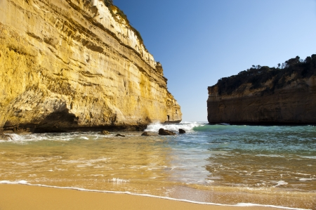 Loch Ard Gorge on the Great Ocean Road, Australia, near the Twelve Apostles Stock Photo - 16066569