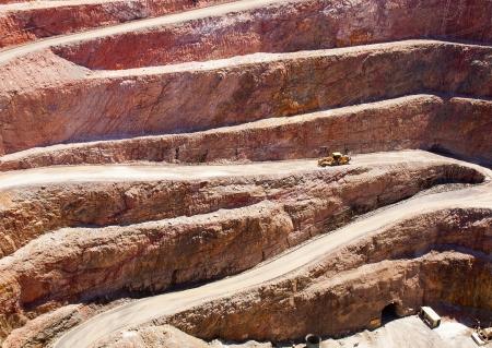 miner�a: La miner�a en Australia en la mina Cobar