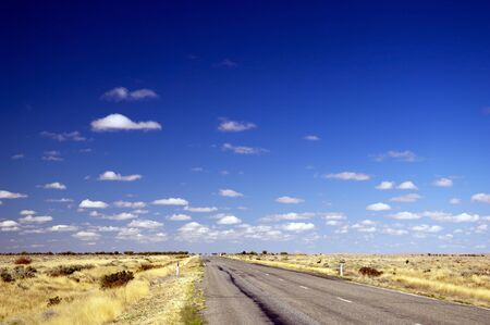 Open road ahead, endless road for concept photo