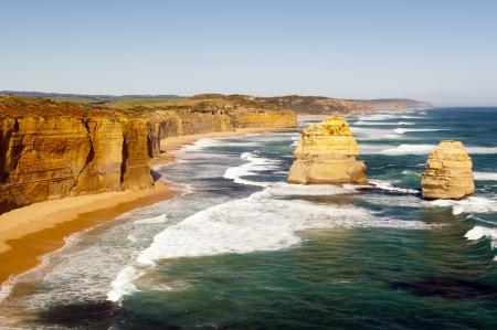 Twelve Apostles, famous landmark along the Great Ocean Road, Australia photo