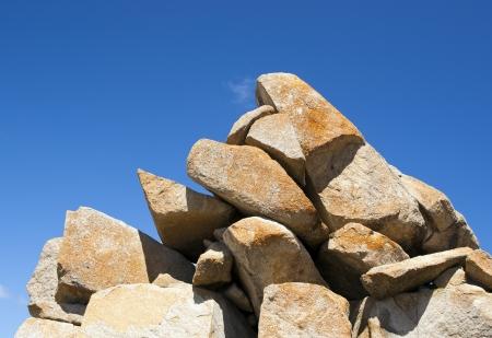 natural formation: Natural formation of granite rocks on Granite Island, South Australia
