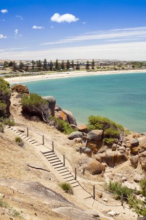 elliot: Beautiful Horseshoe Bay, tourist attraction near Victor Harbour in South Australia