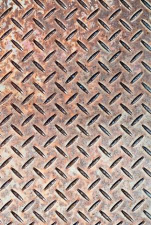 chequerplate: Detail of industrial grade checkerplate steel