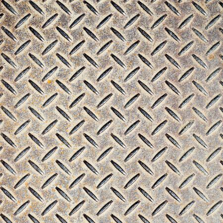 checkerplate: Detail of industrial grade checkerplate steel