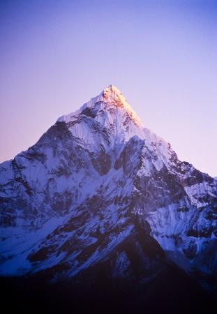 mount everest: Spektakul�re Bergwelt auf dem Mount Everest Base Camp Trek durch den Himalaya, Nepal