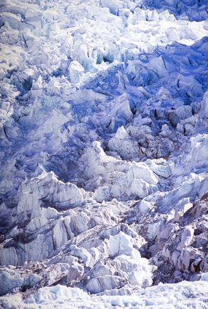 icefall: Khumbu Icefall at Mount Everest Base Camp, Nepal Himalaya