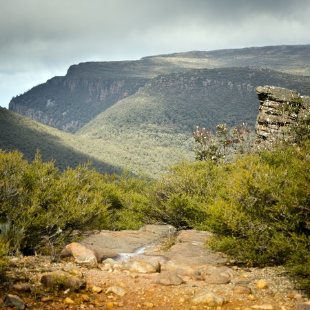 downunder: Scenic views of the Grampians National Park in Western Victoria, Australia