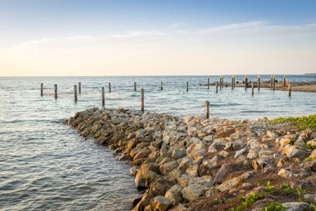 amity: Beautiful ocean views at Amity Point, Stradbroke Island, Queensland Australia
