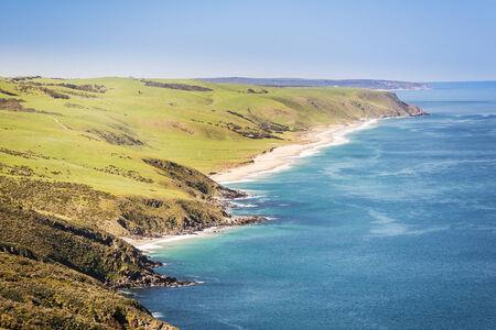 deep south: Landscape of the Australian coastline along South Australia