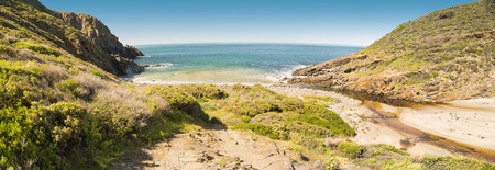 deep south: Deep Creek Conservation Park on the Fleurieu Peninsula in South Australia in panoramic format