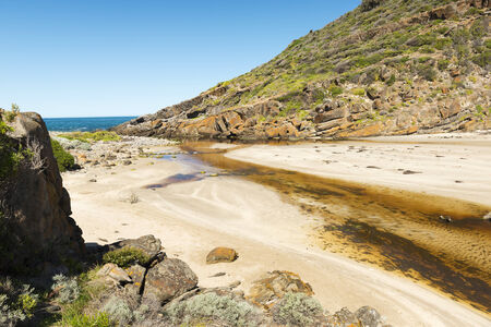 deep south: Deep Creek Conservation Park on the Fleurieu Peninsula in South Australia Stock Photo