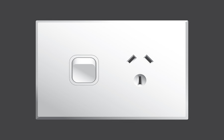 power point: power outlet for Australia