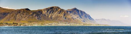 south africa: Panorama of Hermanus in South Africa