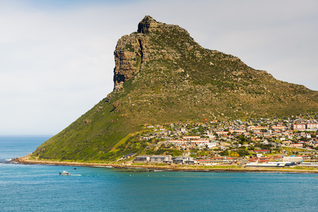 Sentinel peak in Hout Bay near Cape Town, South Africa Stock Photo